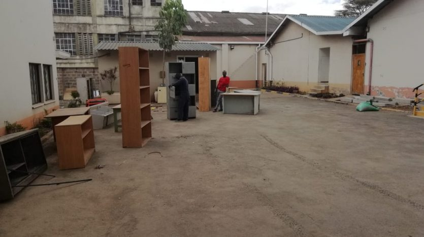 SPACES TO LET IN INDUSTRIAL AREA OFF LIKONI ROAD BY DANCO LTD REGISTERED VALUERS AND ESTATE AGENTS