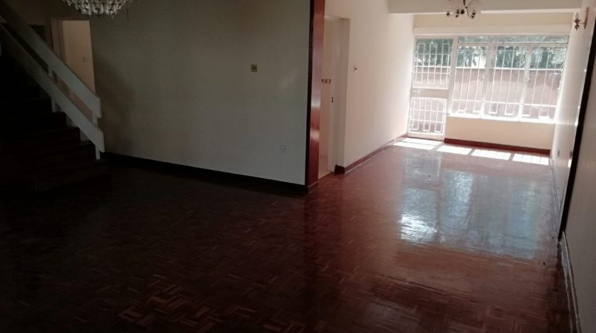 4 bedroom house To Let in Kileleshwa by Danco Ltd Registered Valuers and Estate Agents.