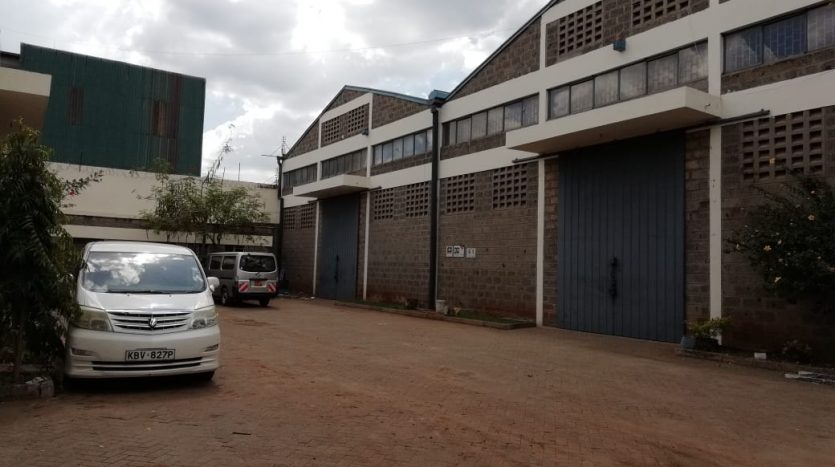 Warehouse or Godown To Let in Industrial area off Enterprise road by Danco Ltd, Registered Valuers and Estate Agents.