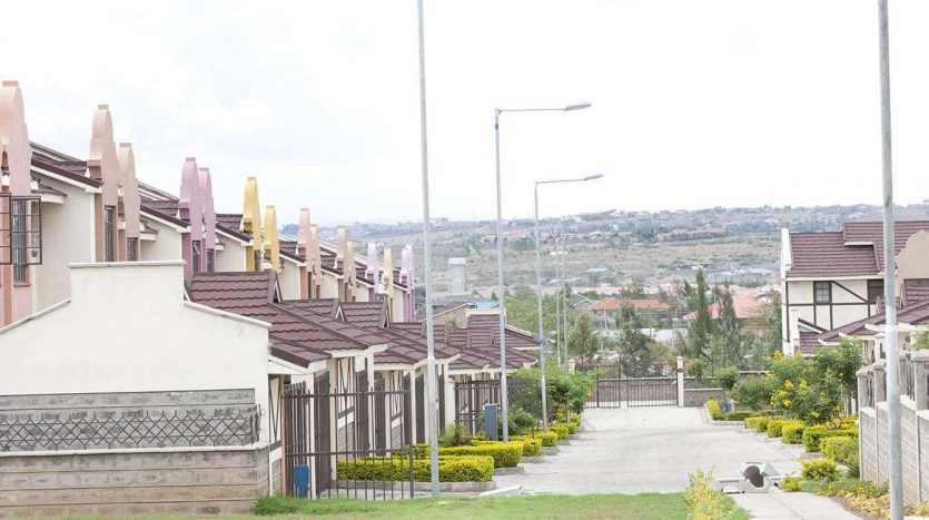 3 bedroom houses For Sale in Athi River by Danco Ltd, Registered Valuers and Estate Agents.